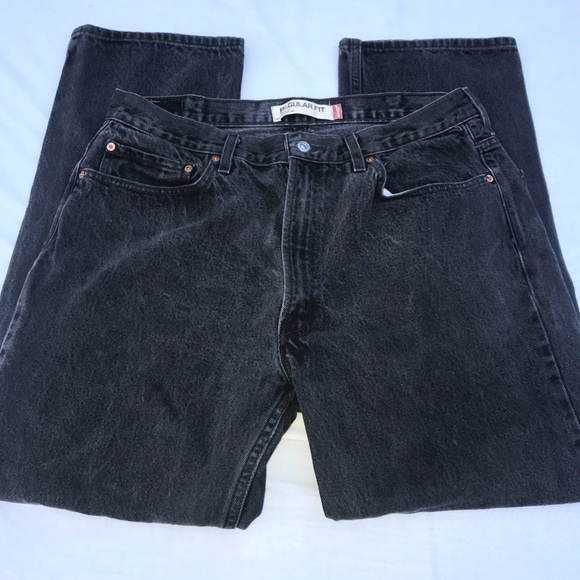 43b4157cb4c Levi's Jeans | Levi Strauss 505 Vintage Black Regular Fit Jean ...